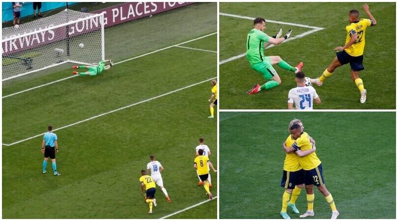 Svezia, vittoria di rigore. Battuto Hamsik