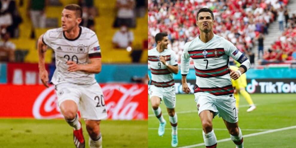 Portogallo-Germania, quando Ronaldo non diede la maglia a Gosens e i compagni...