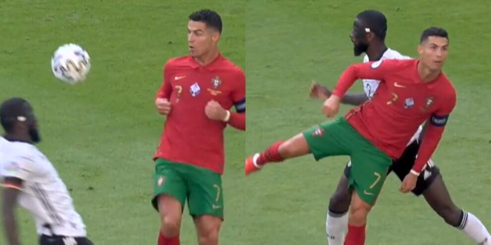 Cristiano Ronaldo show: sombrero e passaggio di tacco no look, social impazziti!
