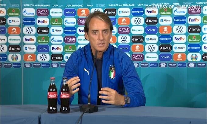 """Mancini: """"Nessun biscotto. Giochiamo per vincere"""""""