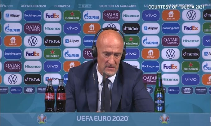 Ungheria, emozione Marco Rossi: lacrime in conferenza stampa