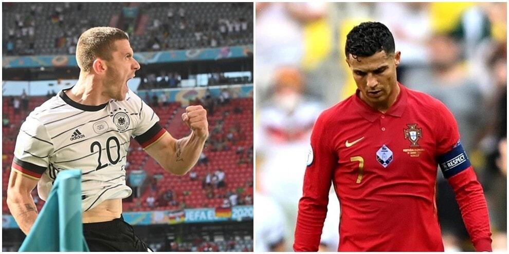 Europei, Portogallo-Germania 2-4: Gosens 'ribalta' Ronaldo