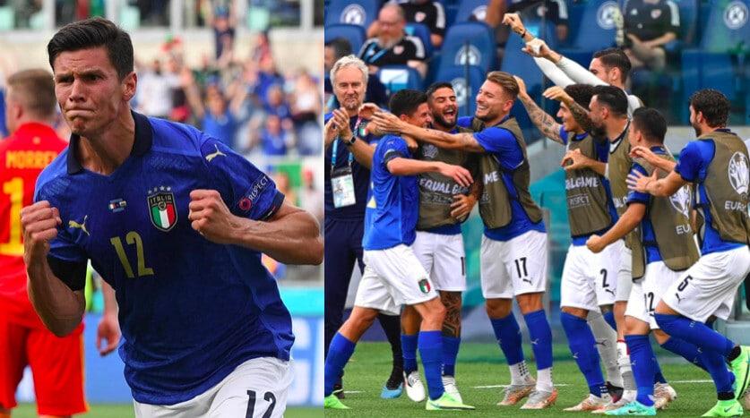 Pessina decisivo, l'Italia vince anche contro il Galles