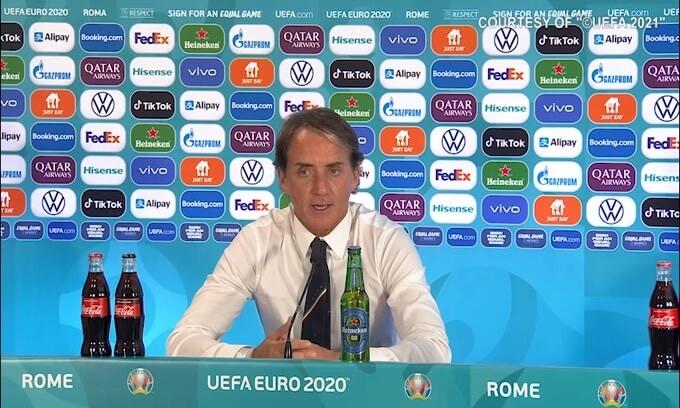 """Mancini: """"Verratti o Locatelli? Una sofferenza scegliere"""""""