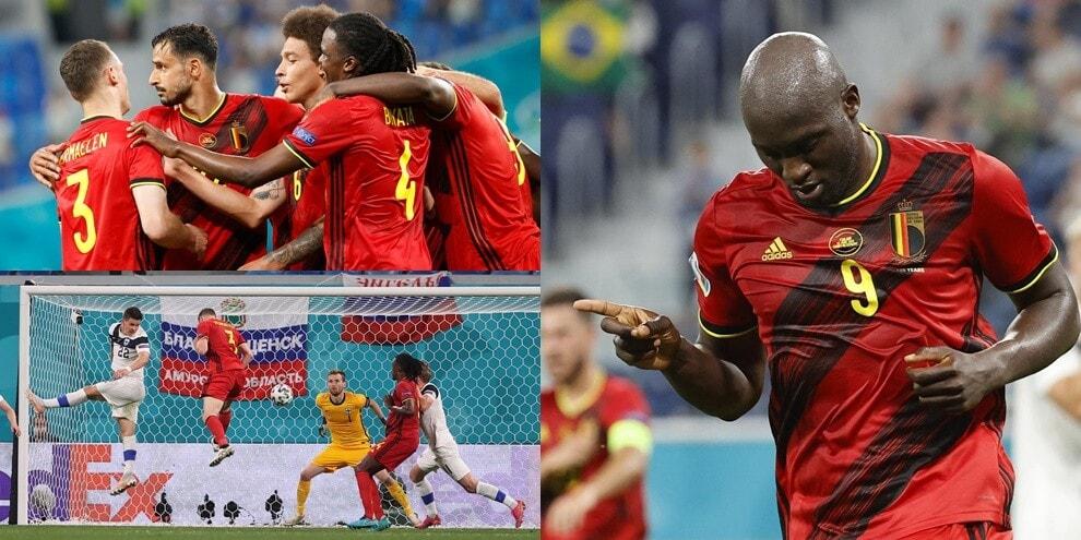 Lukaku è straripante: il Belgio batte 2-0 la Finlandia