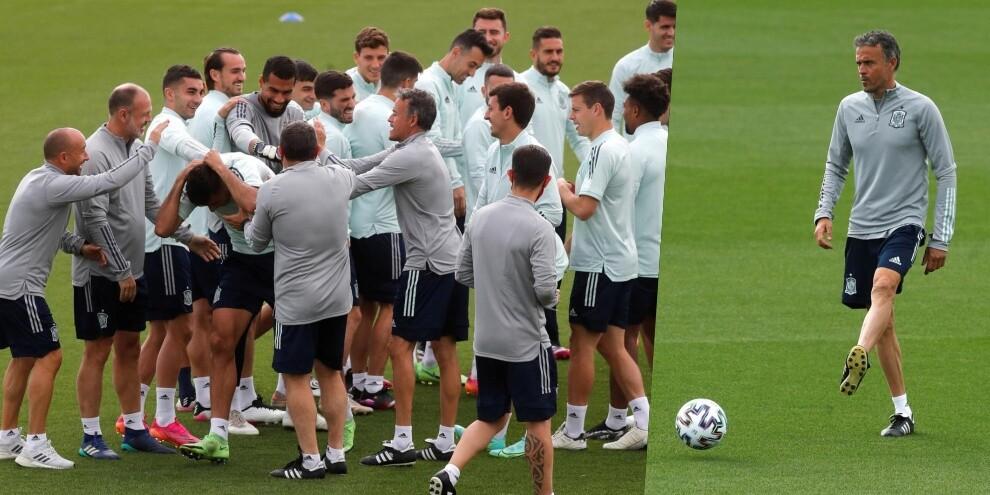 Spagna, tutti contro Rodri: allenamento in vista della Slovacchia