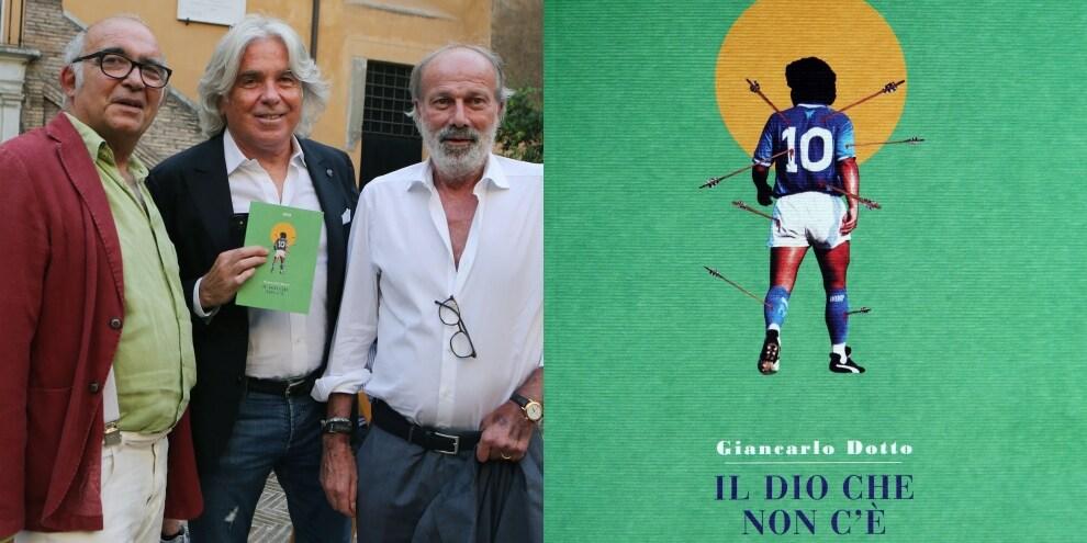 Walter Sabatini alla presentazione del nuovo libro su Maradona