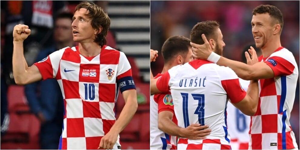 Perisic e Modric trascinano la Croazia agli ottavi: battuta la Scozia