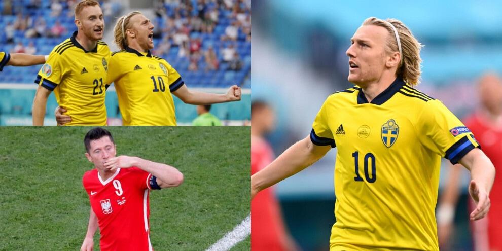 Forsberg trascina la Svezia. Lewandowski ultimo ad arrendersi