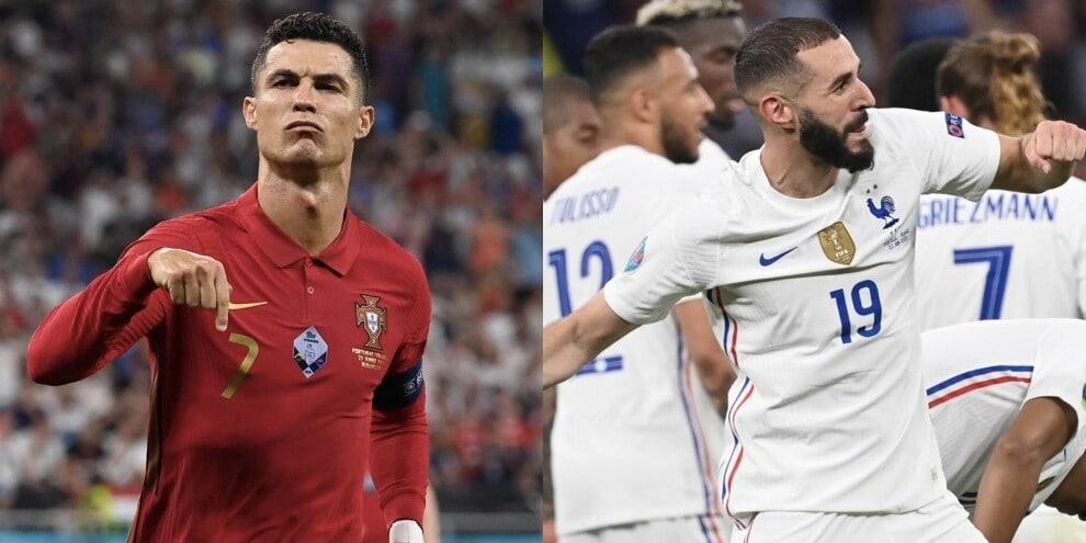 Ronaldo-Benzema show, Portogallo e Francia volano agli ottavi