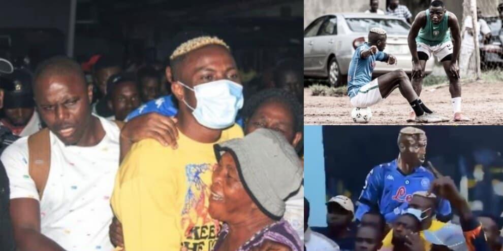 Osimhen torna in Nigeria: accoglienza da re
