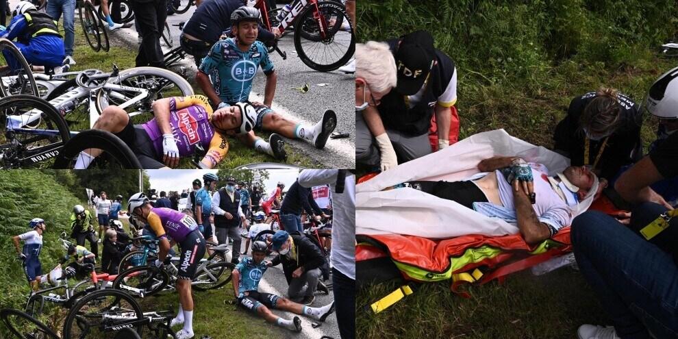 Clamoroso incidente al Tour de France!