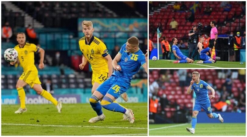 L'Ucraina vola ai quarti: Svezia ko ai supplementari