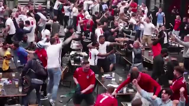 Inghilterra-Germania, la gioia degli inglesi e la delusione tedesca