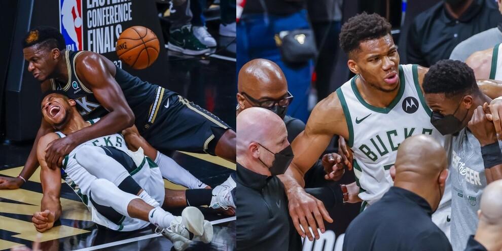 Nba, paura Milwaukee! Infortunio al ginocchio per Giannis