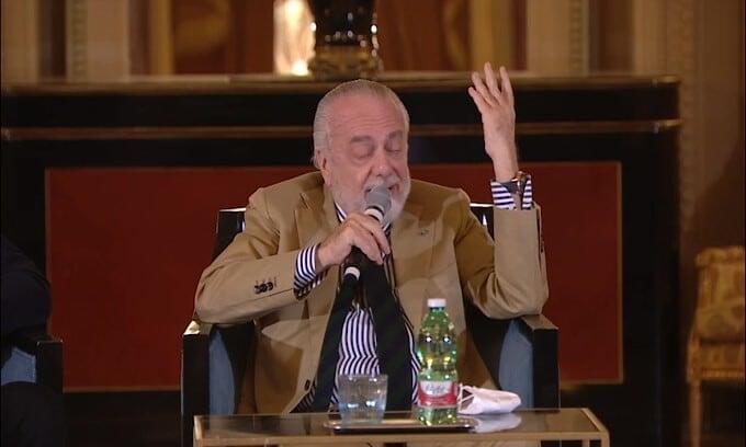 """De Laurentiis: """"Insigne? Sarà quel che sarà"""""""
