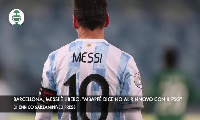 """Barcellona, Messi è libero. """"Mbappè dice no al rinnovo con il Psg"""""""