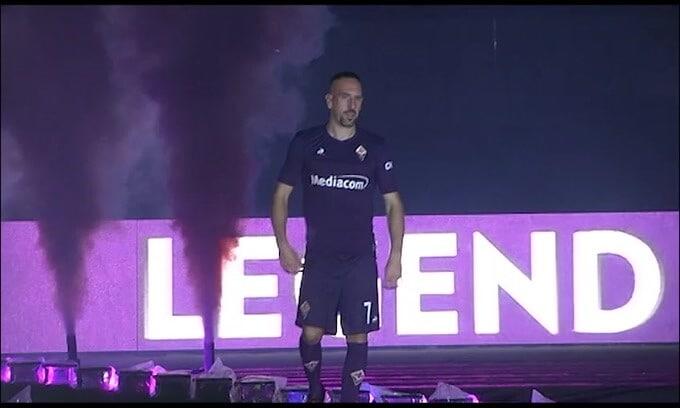 La Fiorentina saluta Ribery