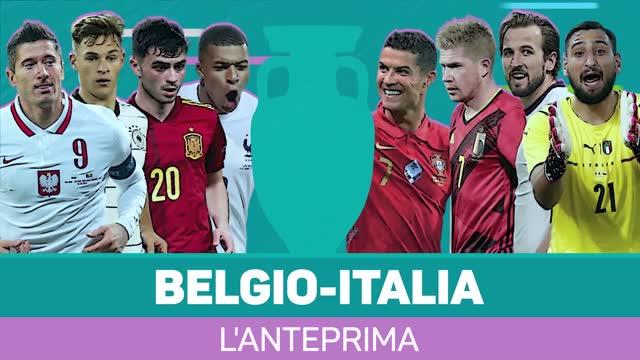 Belgio-Italia, l'anteprima
