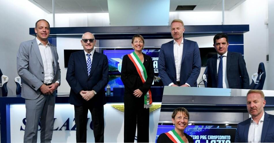 Lazio, tutti ad Auronzo: presentato il ritiro