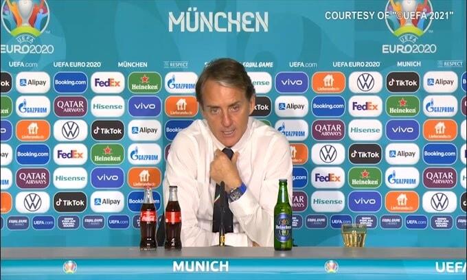 """Mancini: """"Orgoglioso di allenare questi ragazzi"""""""