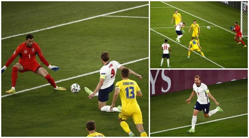 Super Kane trascina l'Inghilterra in semifinale: Ucraina ko