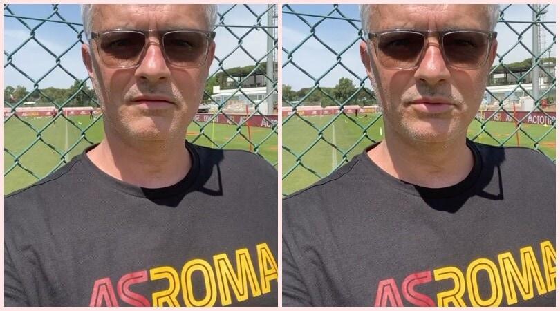 """Mourinho al lavoro: """"Pronti per il ritiro. Dispiace per Spinazzola"""""""