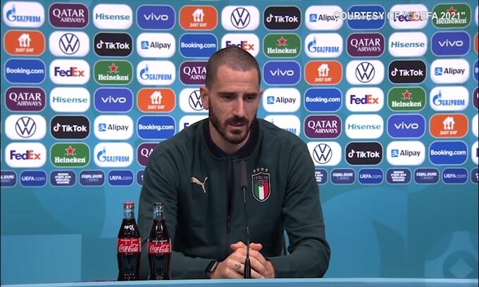 """Bonucci: """"Colpito dalla critiche a Morata. É uno dei migliori"""""""