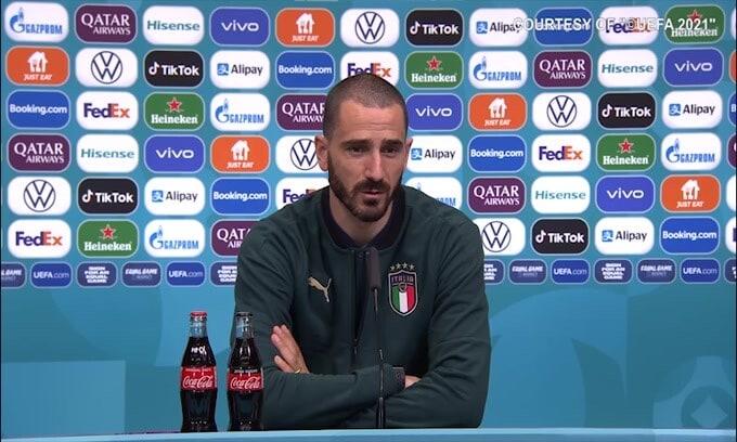 """Bonucci: """"Meglio Morata o Lukaku? Sono due grandissimi attaccanti"""""""