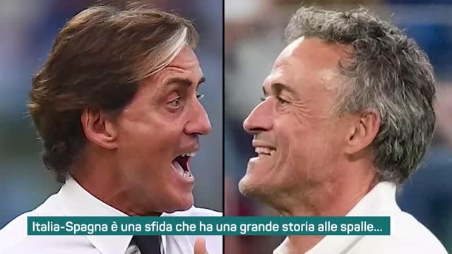 Italia-Spagna, i precedenti