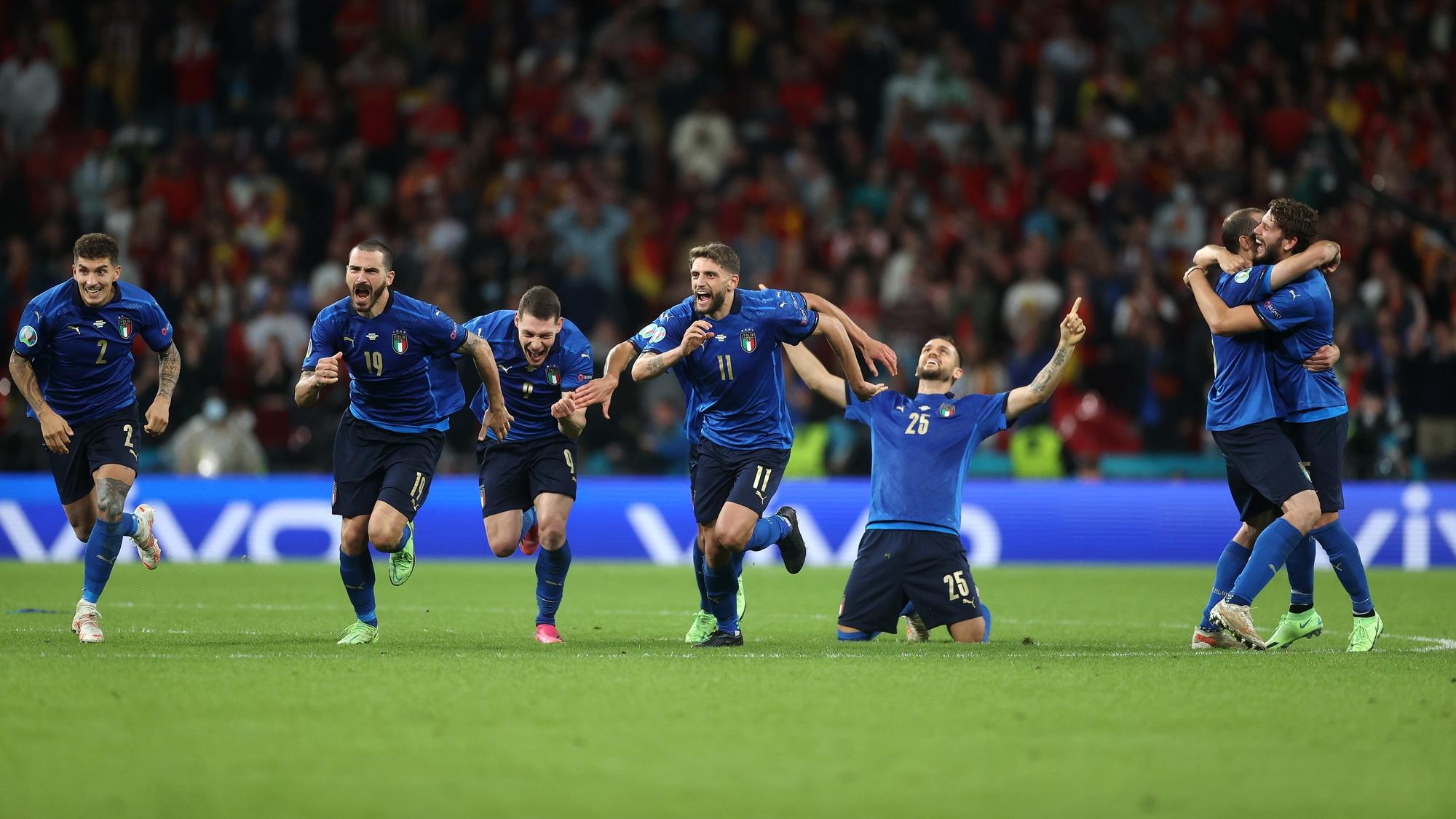 Euro 2020: Italia in finale, Spagna ko: Jorginho ci fa sognare