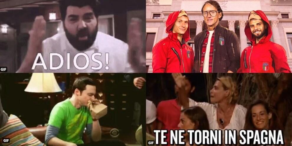 Italia in finale, social in tilt: l'ironia è tutta per la Spagna eliminata!