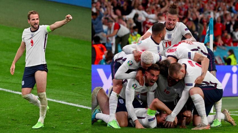 Kane decisivo contro la Danimarca: Inghilterra in finale con l'Italia