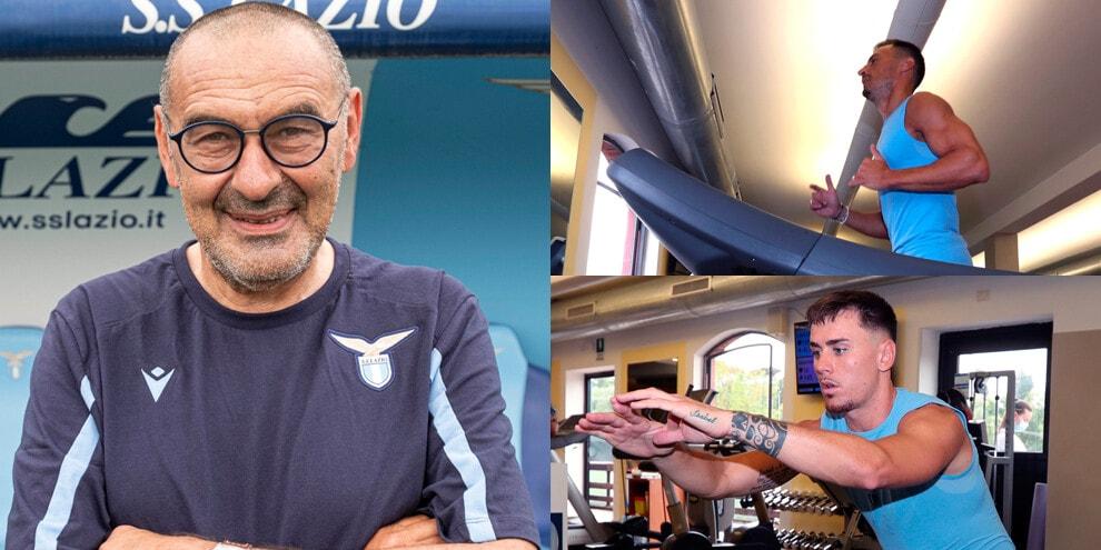 Lazio, tutti a rapporto da Sarri: iniziati i test fisici
