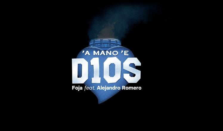 """""""'A mano 'e D10S"""", tributo a Diego Armando Maradona"""