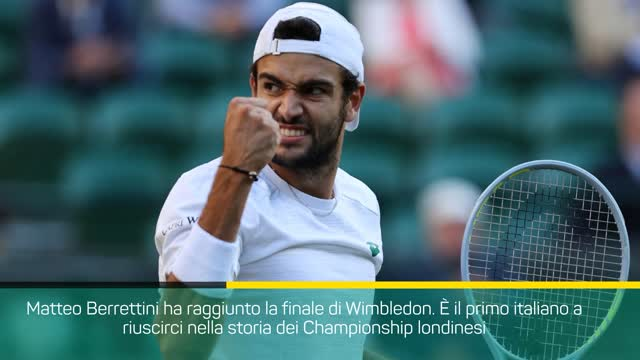 Berrettini riscrive la storia: è in finale a Wimbledon!