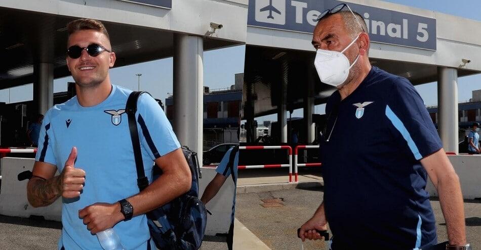 Lazio in partenza per Auronzo: Milinkovic comanda il gruppo