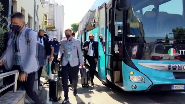 Italia-Inghilterra, gli azzurri volano a Londra