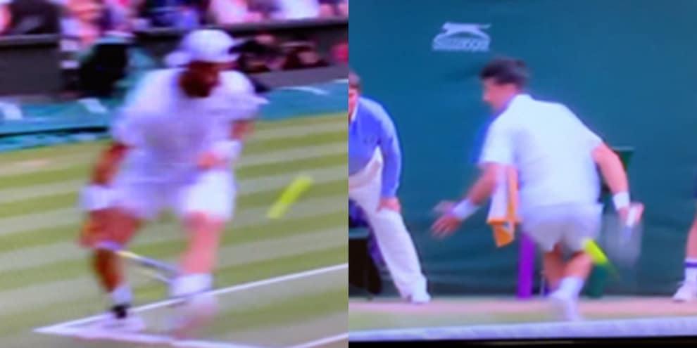 Djokovic-Berrettini, scambio clamoroso. Ha la meglio il tennista romano