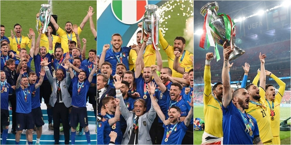 Italia levanta el trofeo: ceremonia de entrega de premios tras la victoria de la Eurocopa 2020
