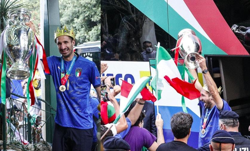 Italia a Roma, che accoglienza per gli azzurri