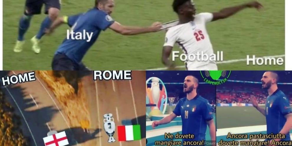 L'Italia trionfa, è campione d'Europa: quanti sfottò social contro l'Inghilterra!