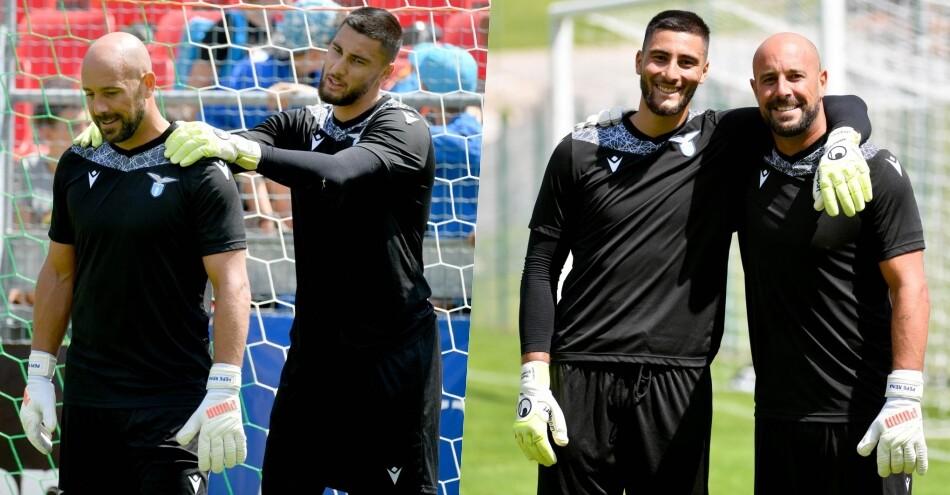 Lazio, che sintonia Reina-Strakosha: Sarri in buone mani