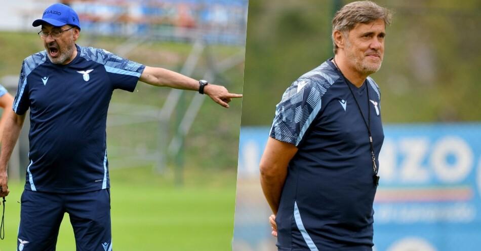 Lazio, come urla Sarri! E Calori osserva…
