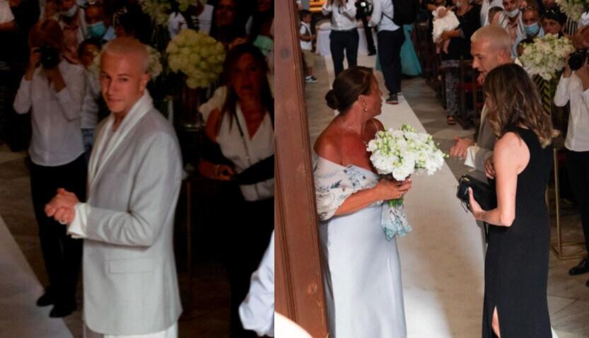 Bernardeschi, che look per il matrimonio con Veronica