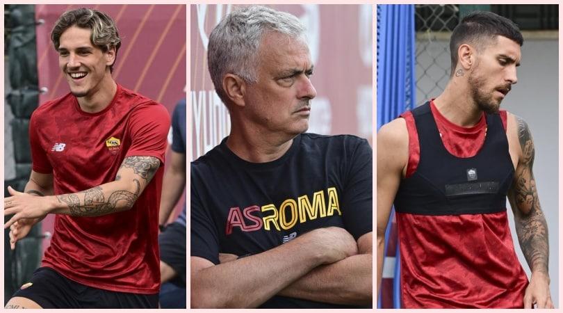 Roma verso l'amichevole: Zaniolo ride, Mourinho controlla