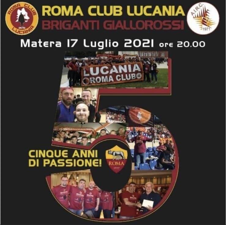 163447148 76c0f245 503b 4735 bbaf 9bd77596d065 - Il Roma Club Lucania apre la stagione con la festa a Matera