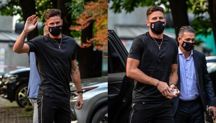 Milan, ecco Giroud: le visite mediche prima della firma