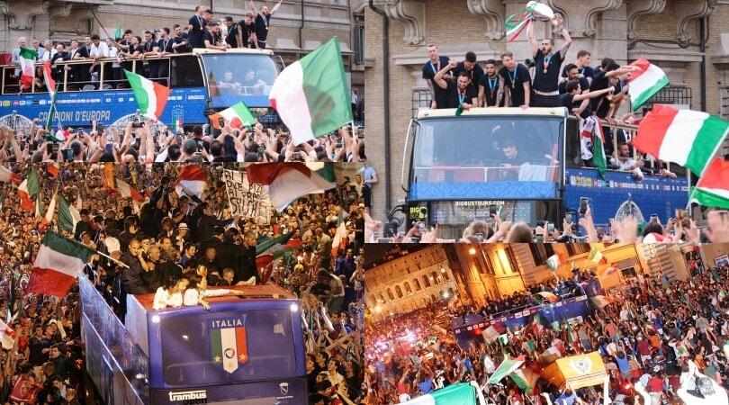 Dal Mondiale 2006 ad Euro 2020: quella festa sul bus che fa impazzire l'Italia da 15 anni