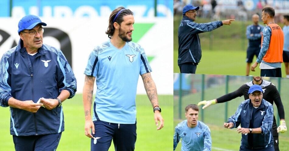 Lazio, come comanda Sarri: tutti a lezione da lui